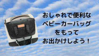 ベビーカーバッグ